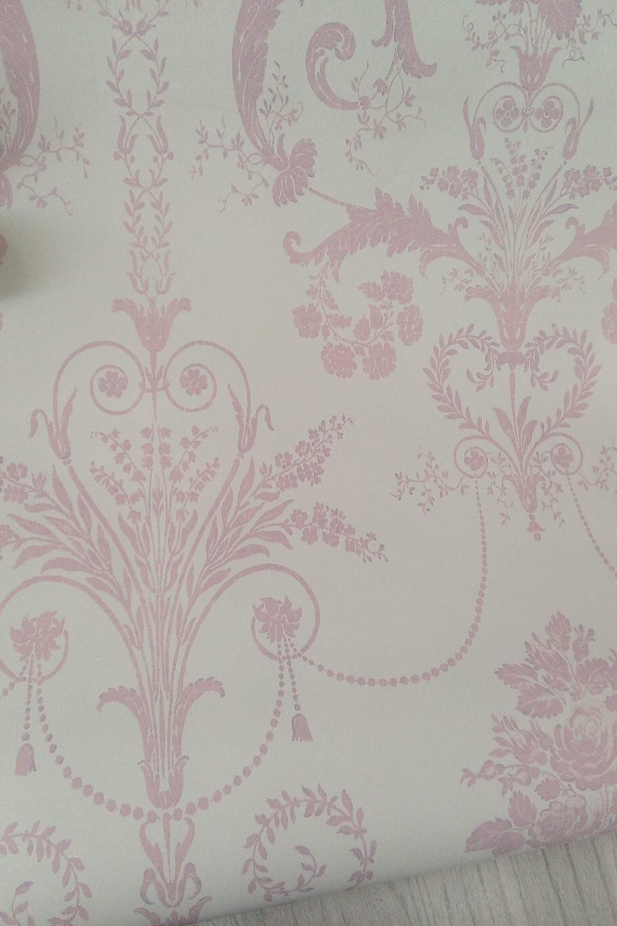 Roll Of Laura Ashley Josette Pink Wallpaper In Ws10 Walsall For