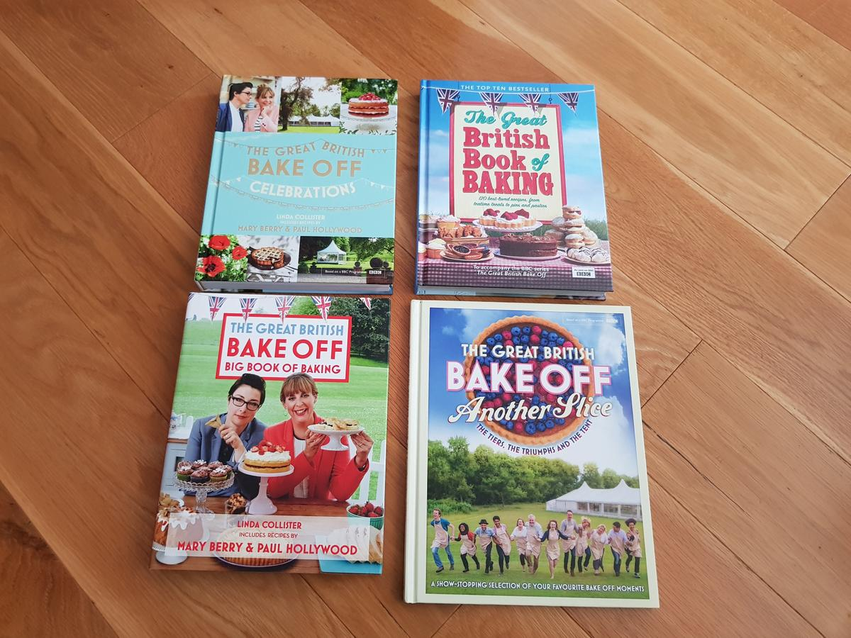 The Great British Bake Off Cook Books 1 Each