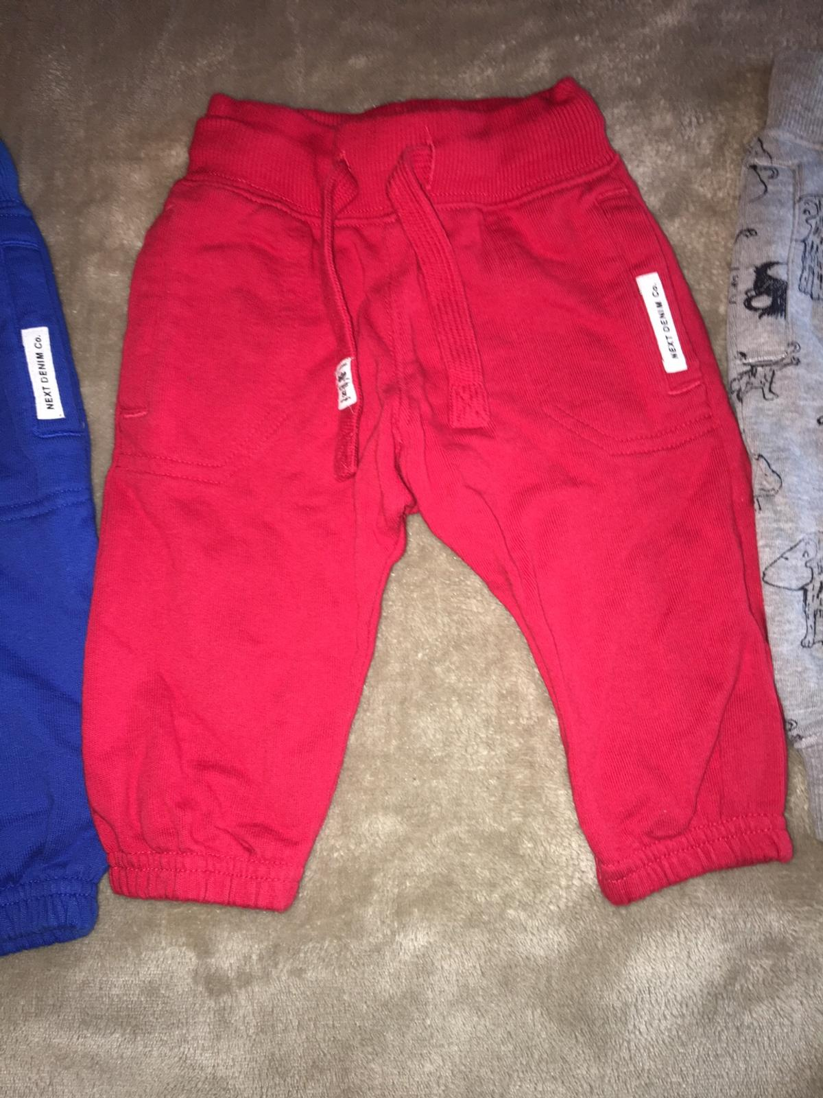 Boys' Clothing (newborn-5t) Baby Boy Next Joggers 6-9 Month Clothing, Shoes & Accessories