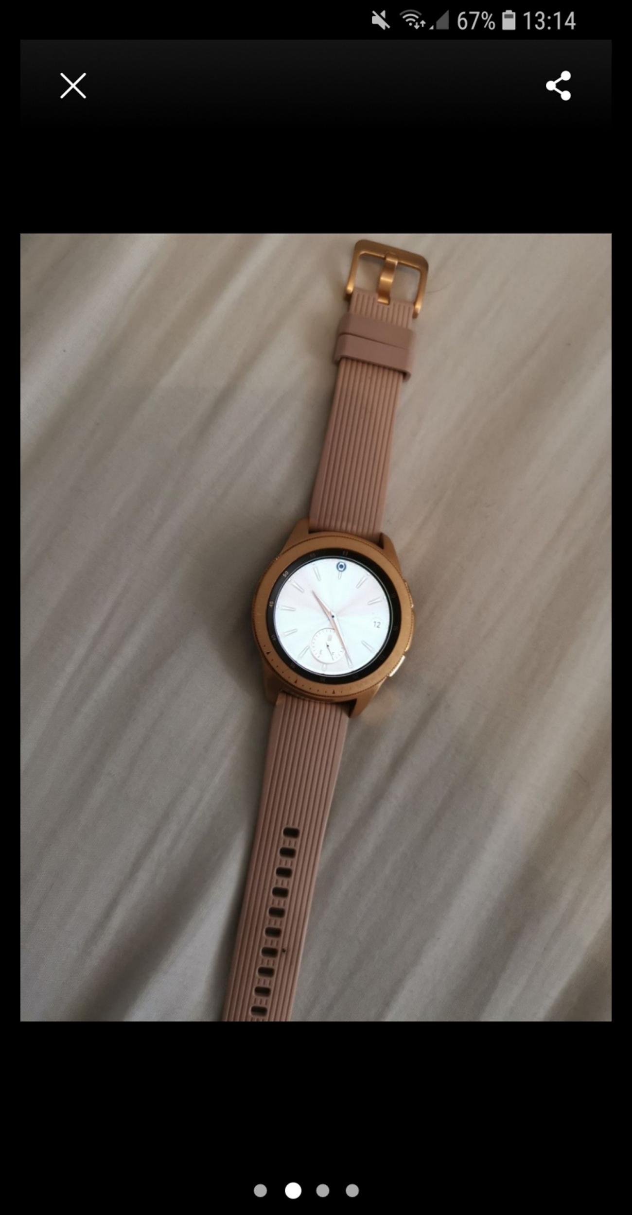 Samsung Galaxy Watch Rose Gold In Walsall For 210 00 For Sale Shpock
