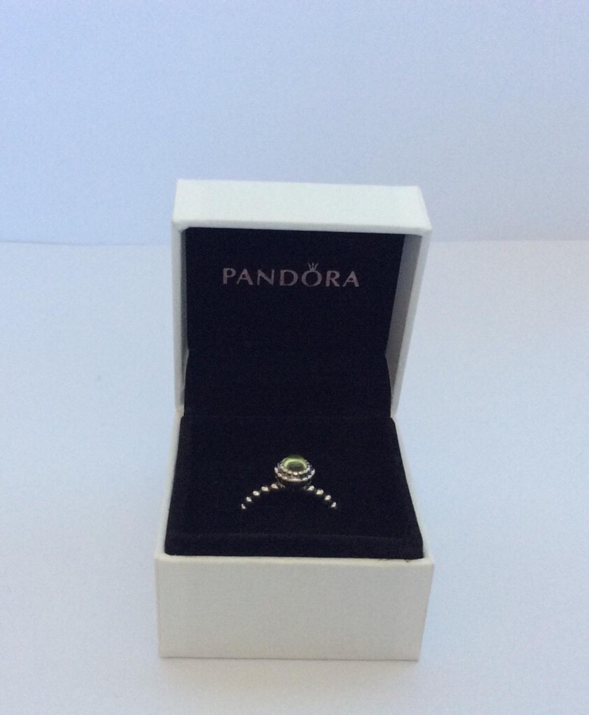 40ca6a2f7 Pandora ring- August birthstone in SG12 Hertfordshire for £25.00 for ...