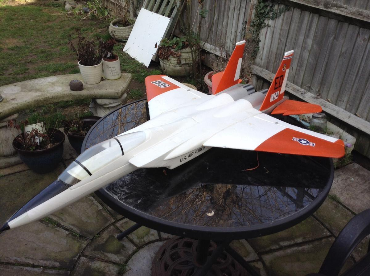 RC Plane F15 foam edf jet airframe in ME10 Swale for £25 00