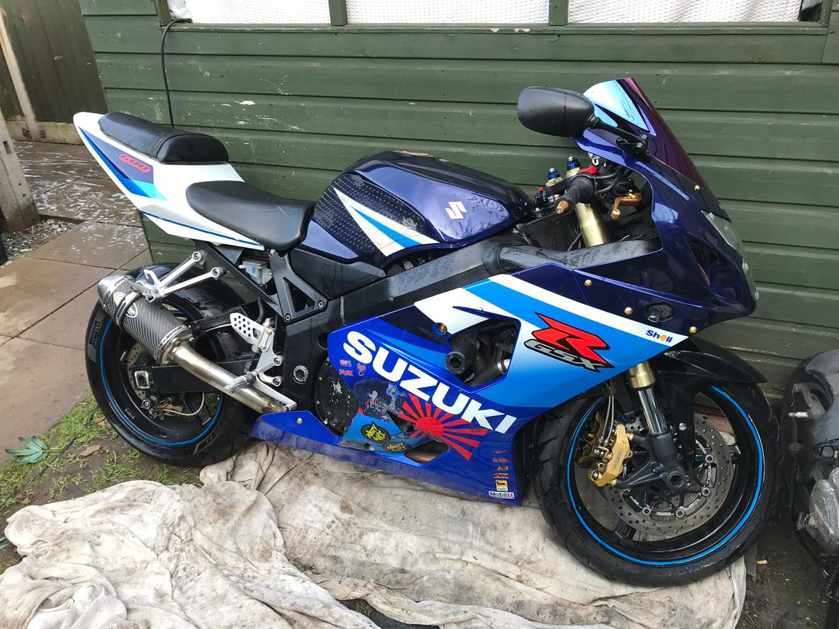 Gsxr 600 k5 2006 swaps px in for £2,500 00 for sale - Shpock