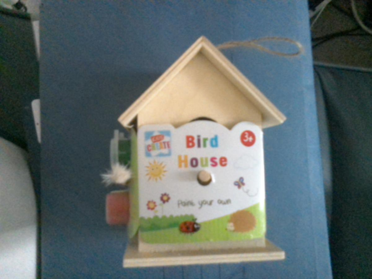 Superb Paint Your Own Bird House Brand New Home Interior And Landscaping Ferensignezvosmurscom