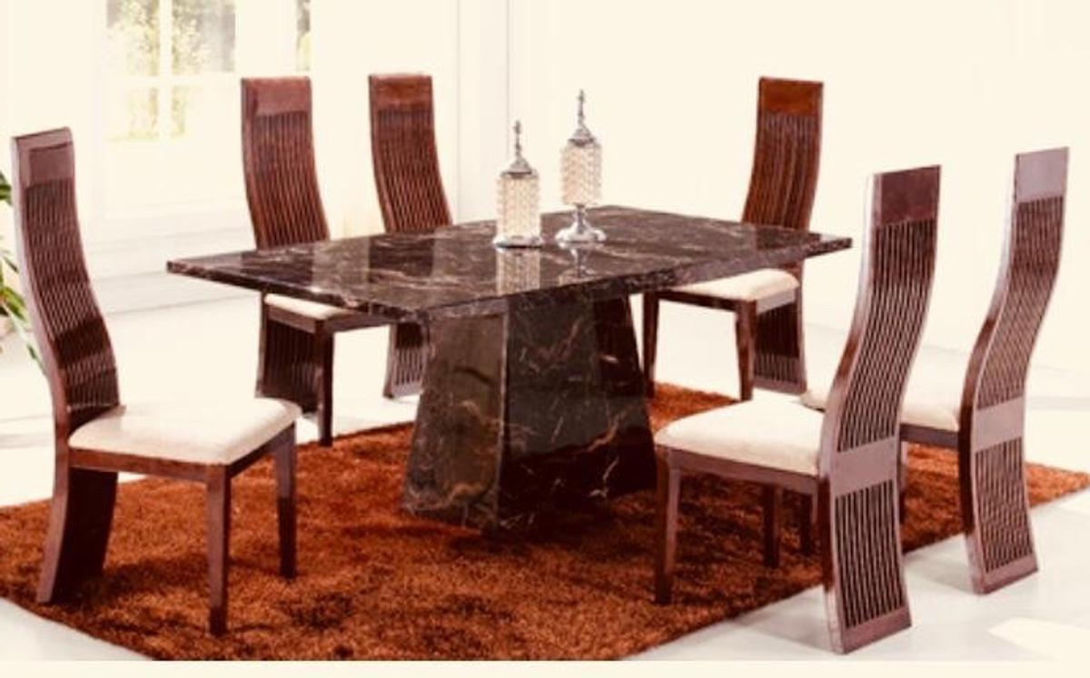 Scs Adelaide 1 8m Solid Marble Dining Table In Ls28 Leeds