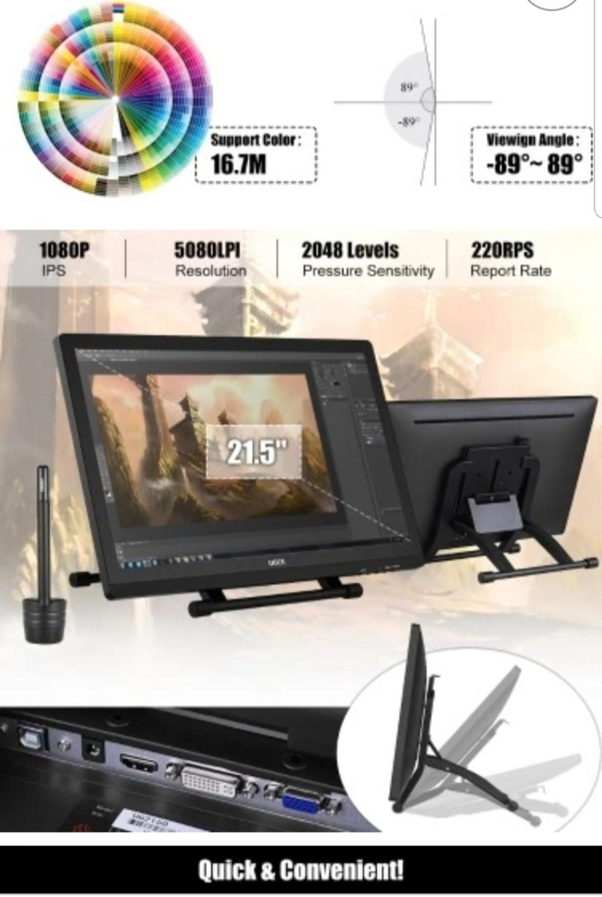 Ugee 1910b Graphic Drawing Tablet 19