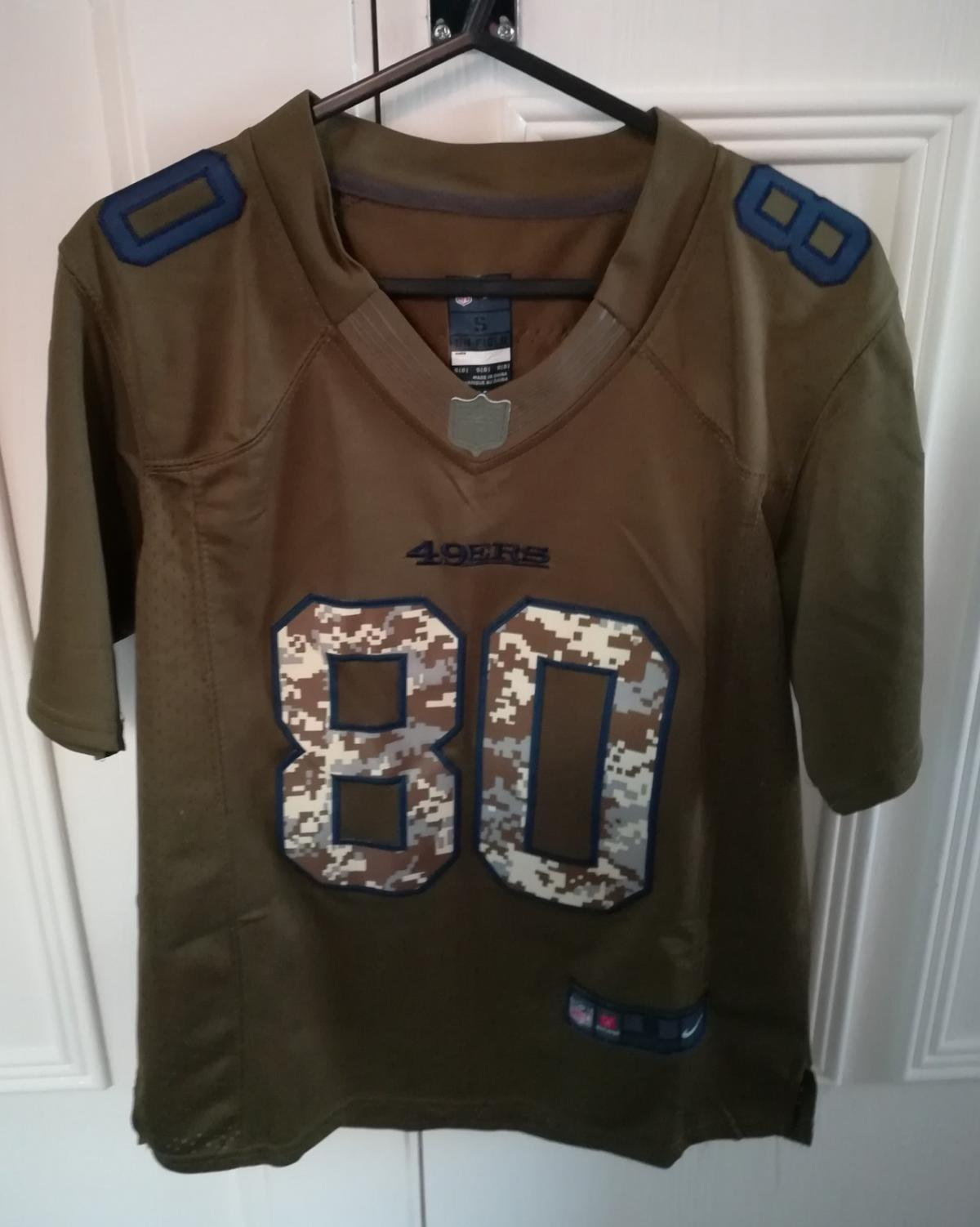 huge discount 9512b d436a Nike NFL 49ers Jersey Jerry Rice in TF5 Wrockwardine for ...
