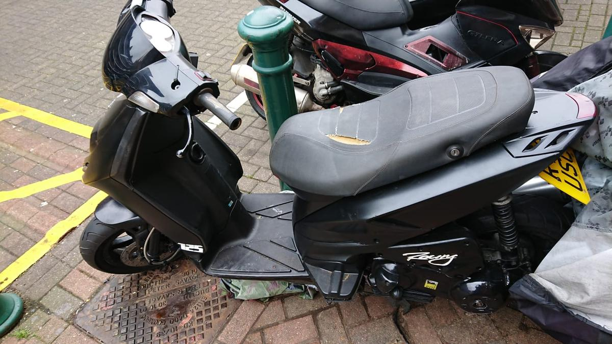 Piaggio typhoon 125 in E5 London for £550 00 for sale - Shpock