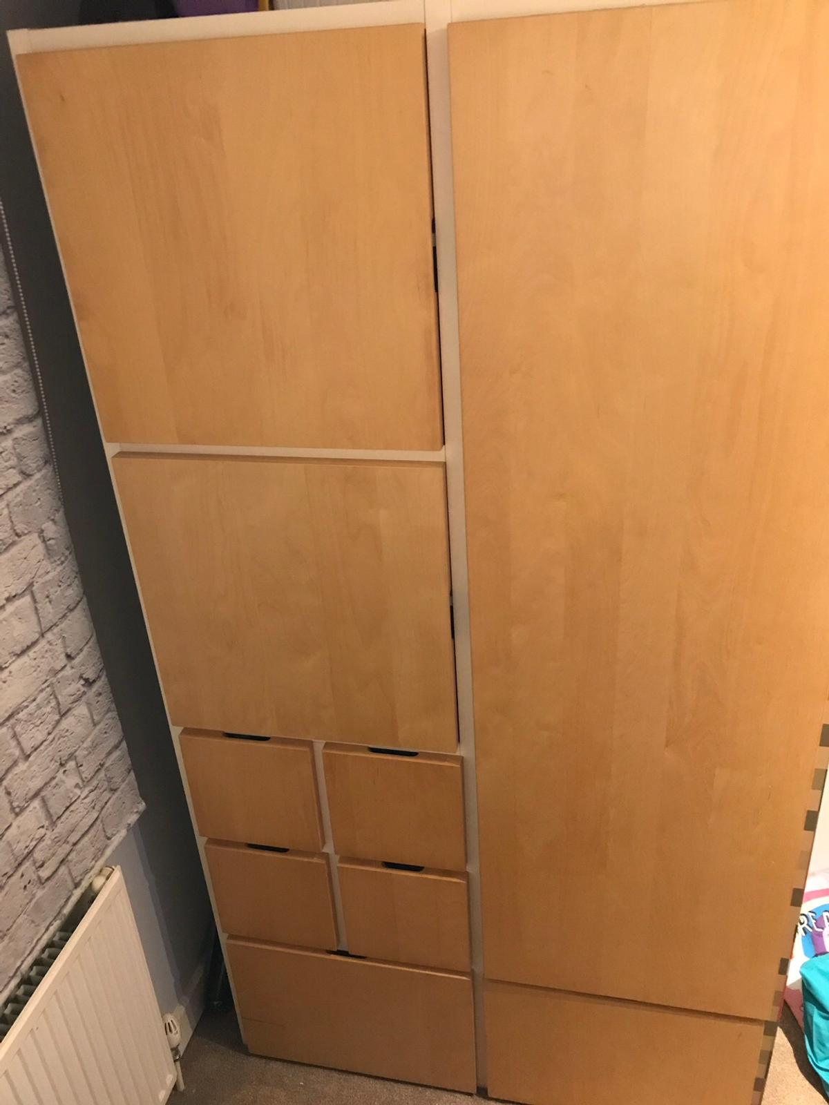 Minecraft Themed Wardrobe And 3 Storage Boxes In Oldham Fur