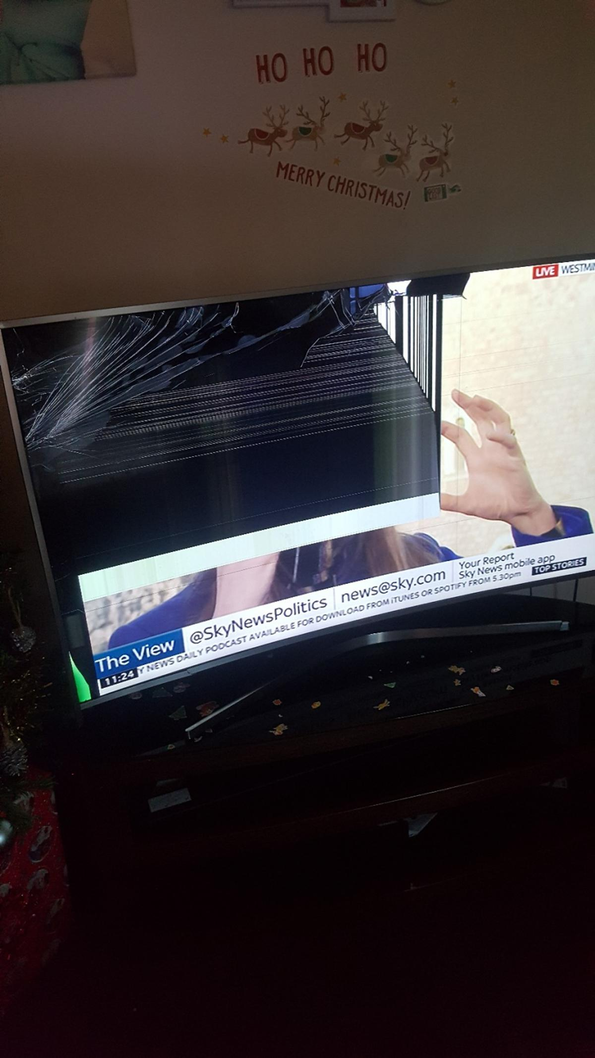 55 inches Samsung smart tv need a repair