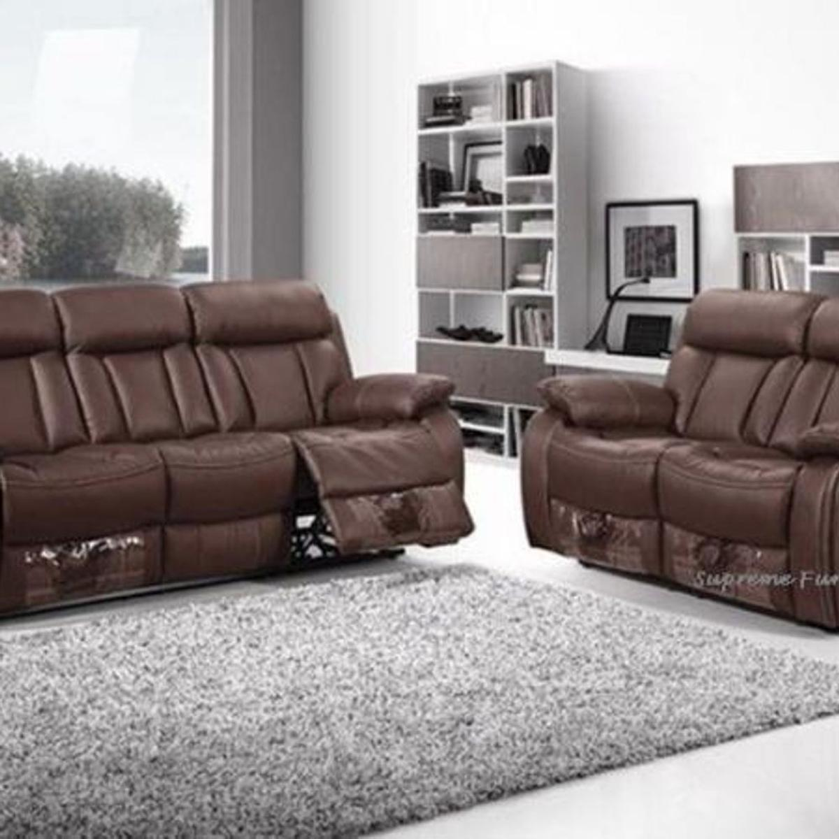 Leather Sofa, Recliners, 3 + 2, SALE