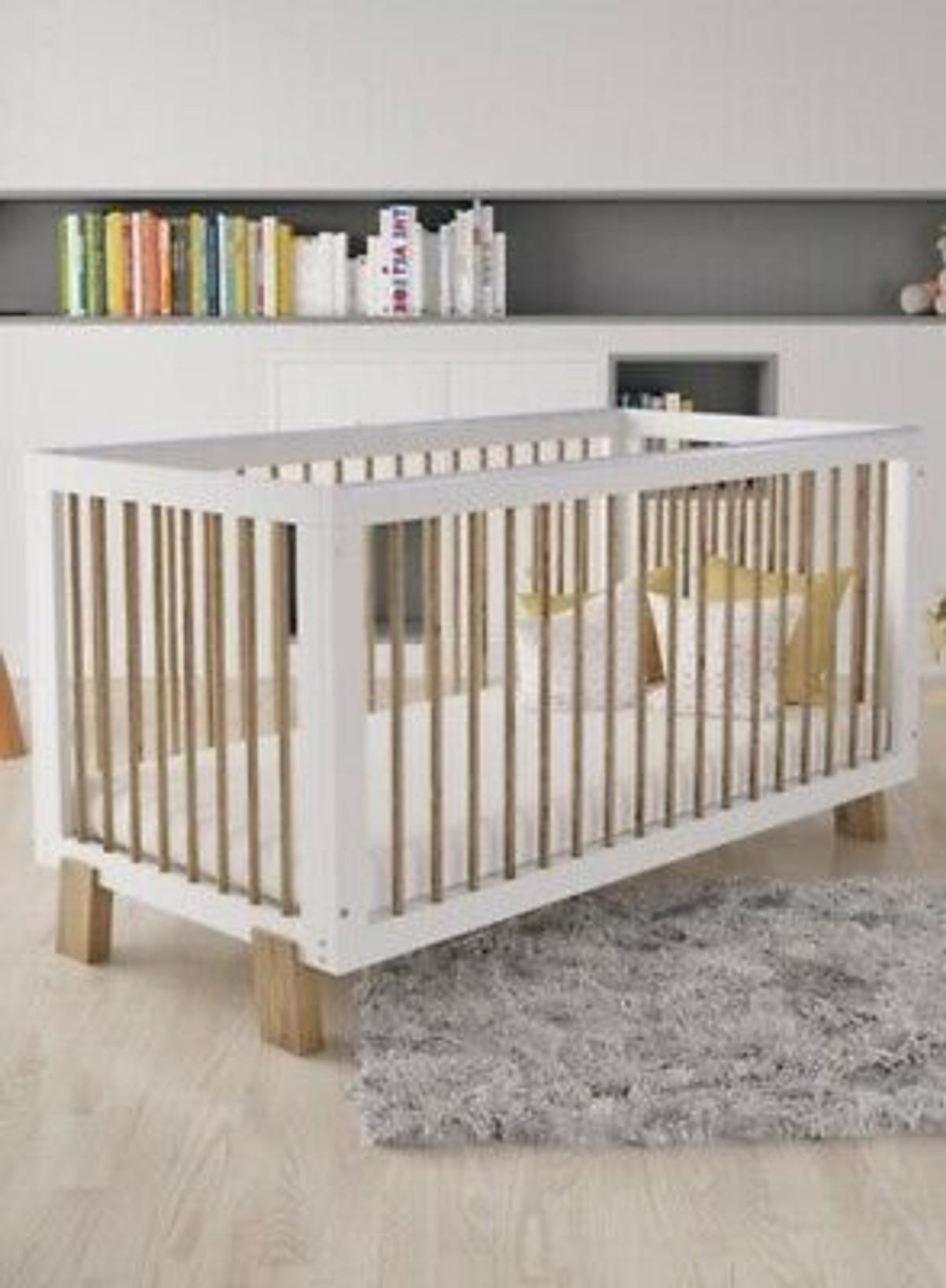 differently 63aca 1b404 Unpacked Zaire Cot Bed from Honeybee