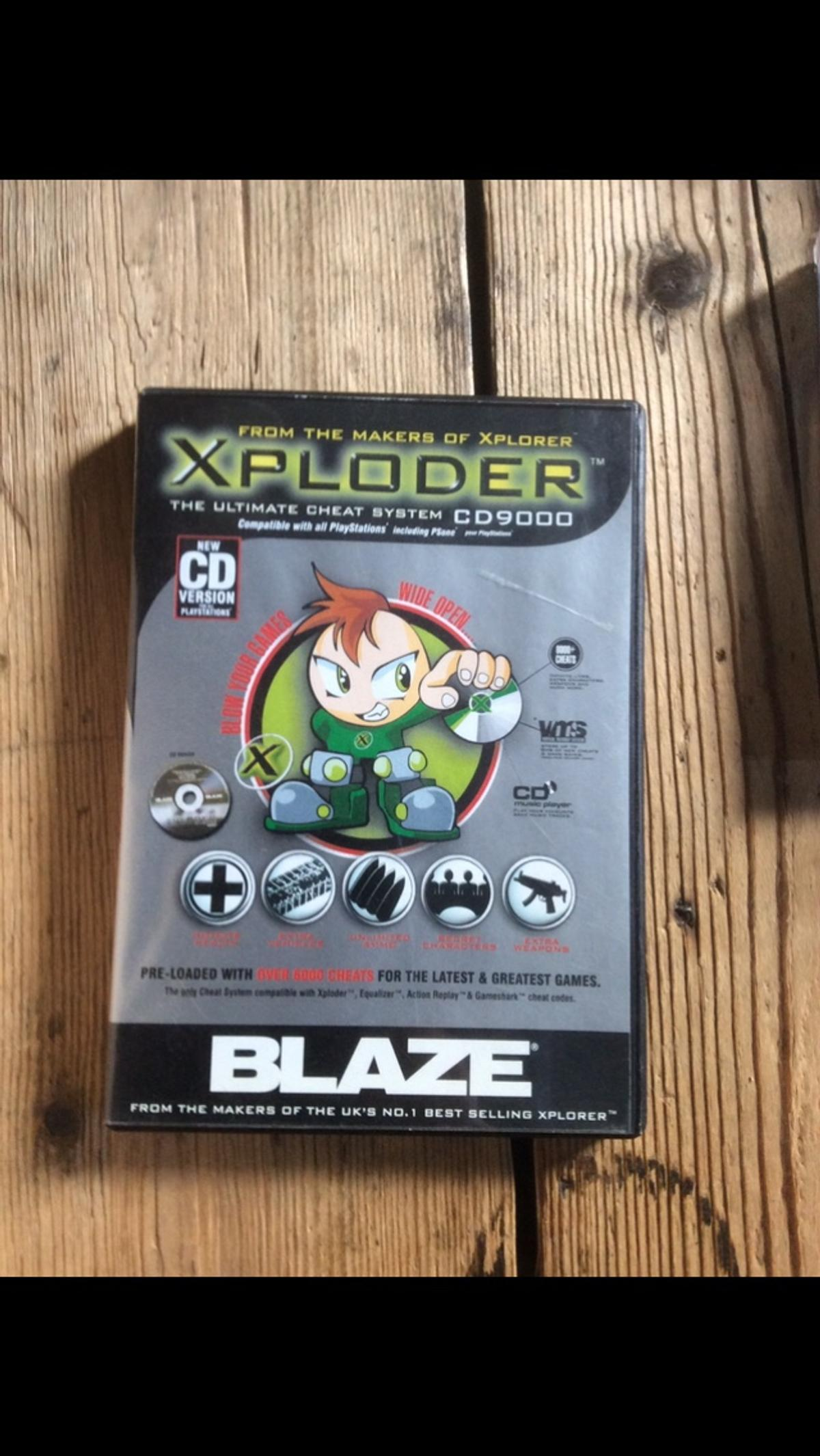 Xploder Cheat System CD for PS1 PS2