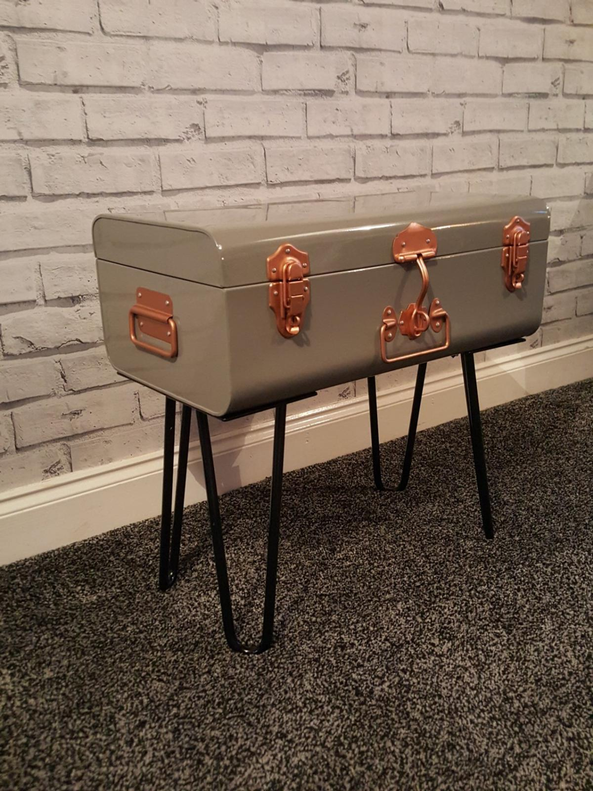 Retro side table/storage trunk ***SALE*** in Chorley for