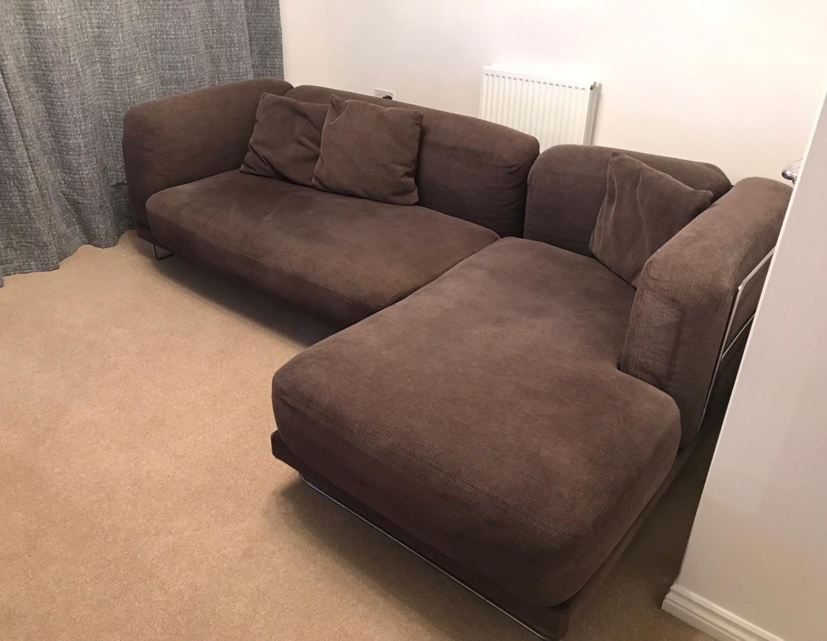 Pleasant Large Brown Tylosand Ikea Sofa In Rochdale Fur 50 00 Zum Gmtry Best Dining Table And Chair Ideas Images Gmtryco