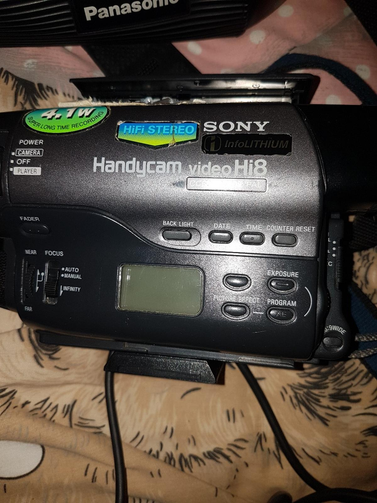 2 sony handycam for sale spares and repairs in B45