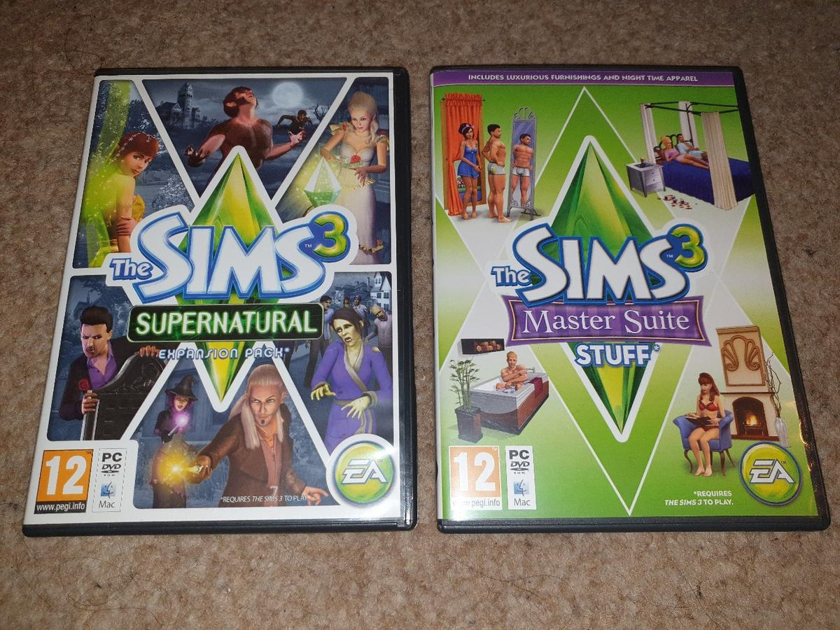 The sims 3 Expansion pack £2 for both!!