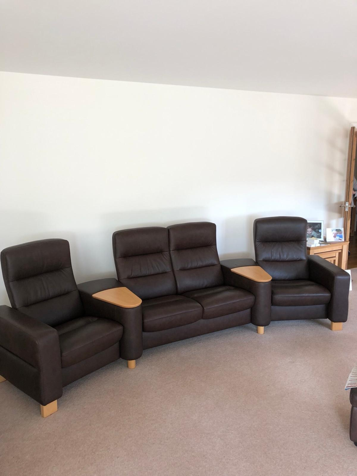 Leather Sofa From Furniture Village