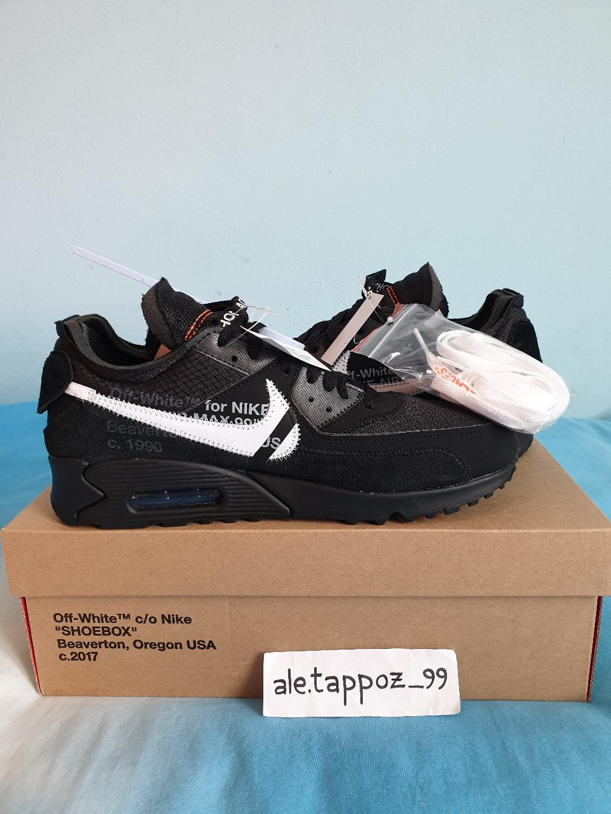 WTS] Nike Air Max 90 x Off White Black in 27029 Vigevano for