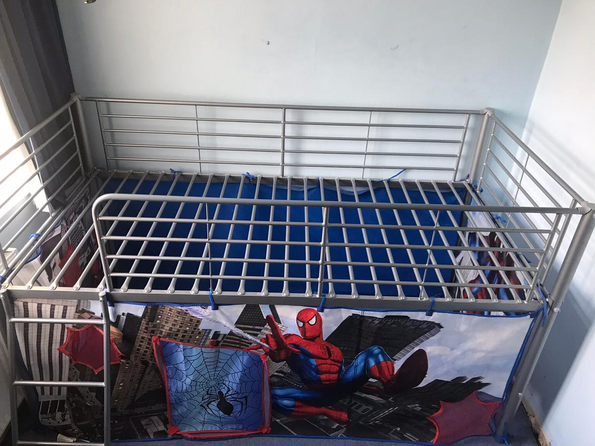 Spider Man Mid Sleeper Bed In Cv7 Nuneaton And Bedworth For 45 00 For Sale Shpock