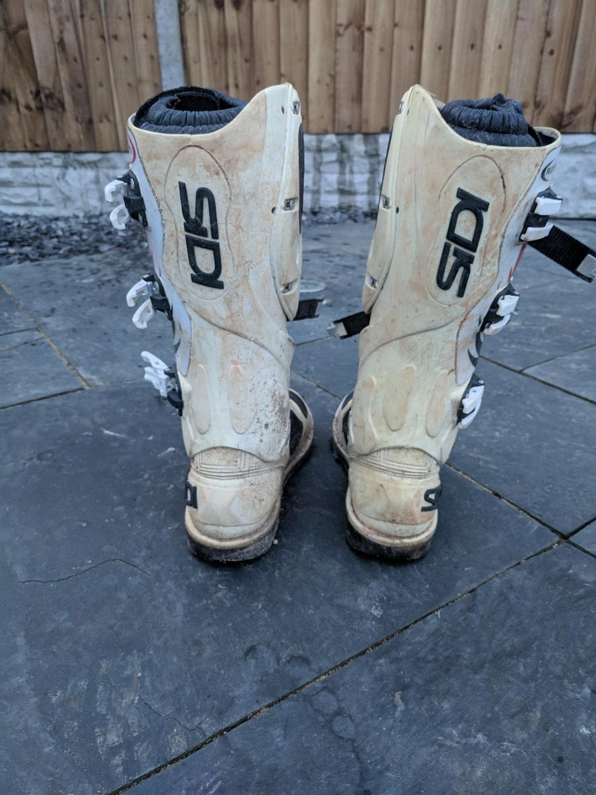 Sidi Flex Force Motocross MX Boots Size 9 5 in CV2 Coventry for