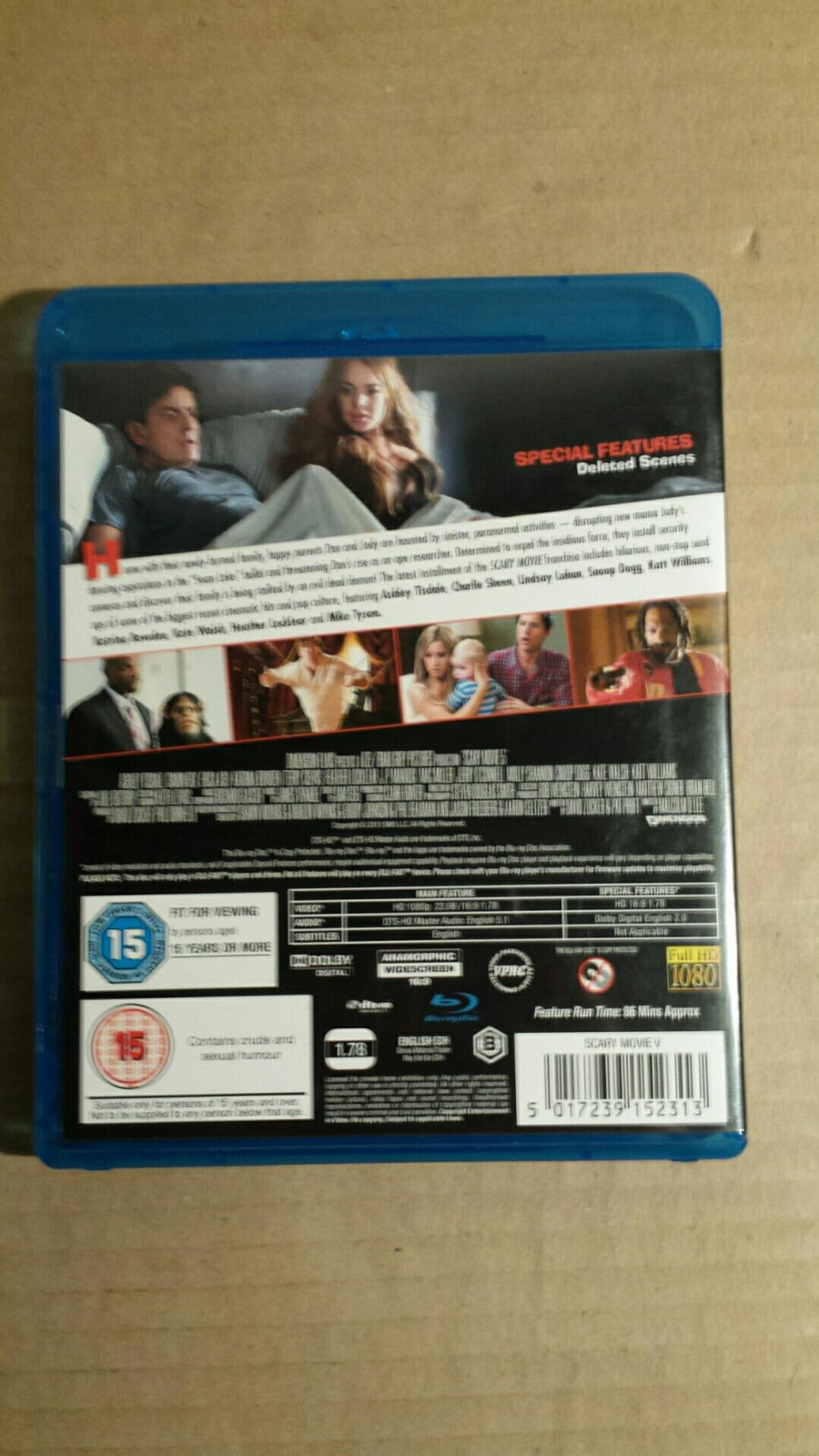 Scary Movie 5 Blu Ray Free Postage In St5 Lyme For 5 00 For Sale Shpock