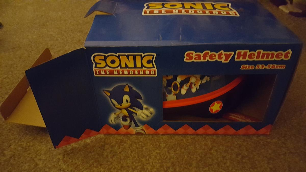New Sonic The Hedgehog Kids Bike Helmet In Ws2 Walsall For 8 00 For Sale Shpock
