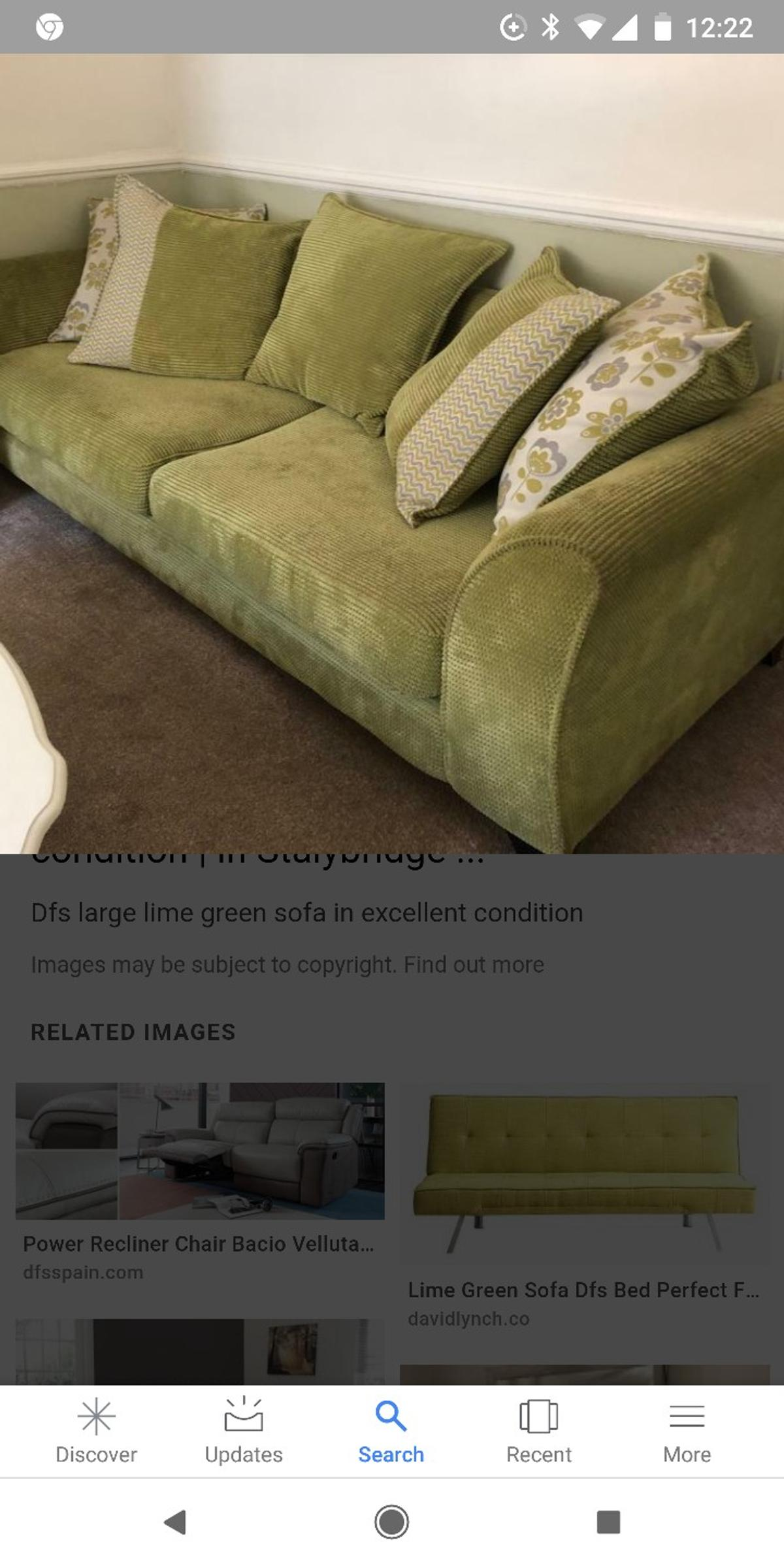 Pleasant Dfs Lime Green Sofa Caraccident5 Cool Chair Designs And Ideas Caraccident5Info