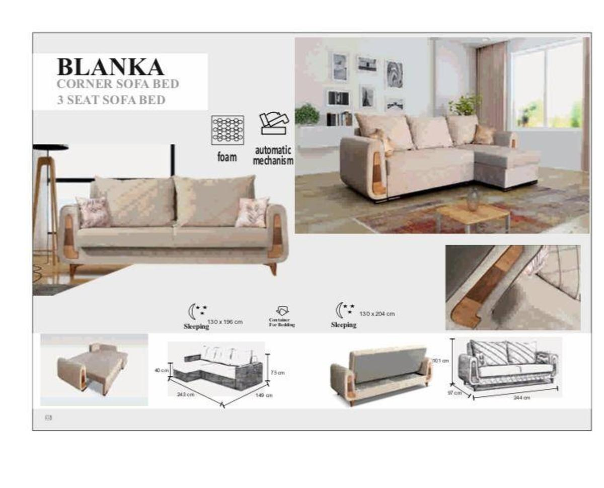 Superb Blanka 3 Seater Sofa Bed On Sale Now In E1 0Ae London For Caraccident5 Cool Chair Designs And Ideas Caraccident5Info