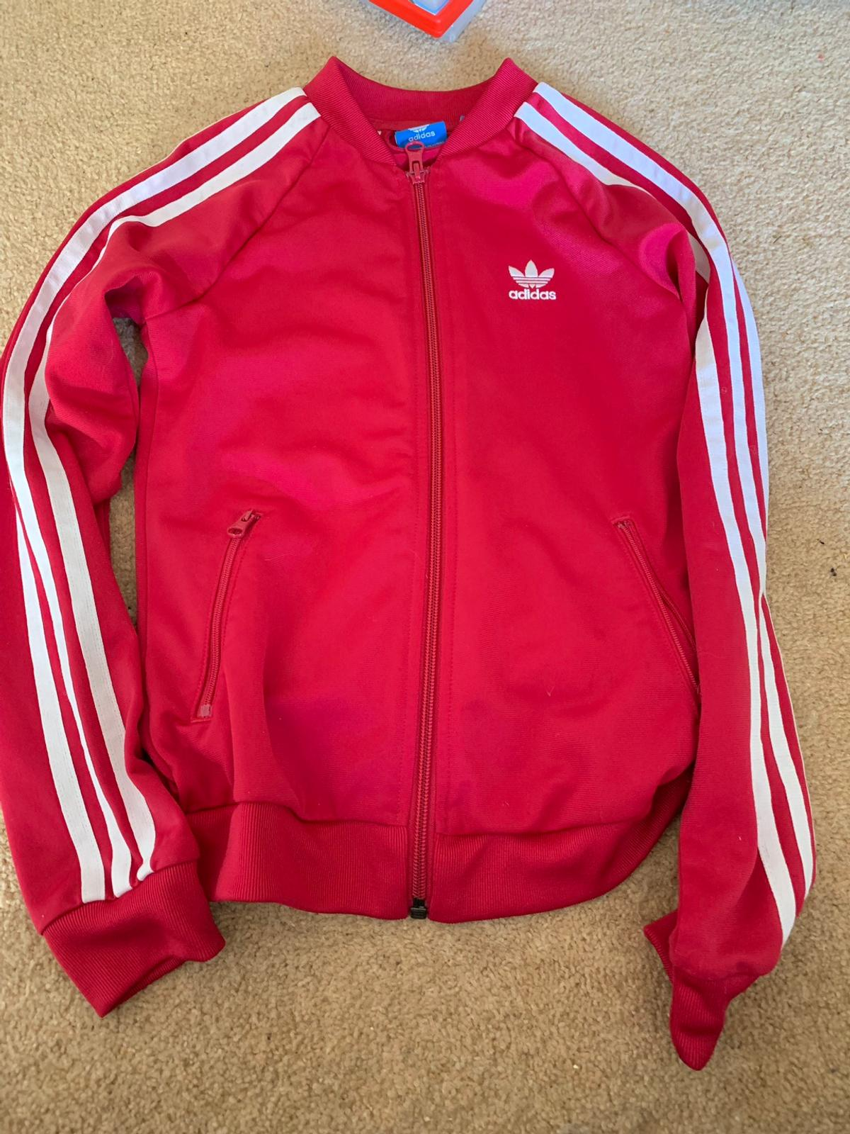 Child's Red Adidas Jacket