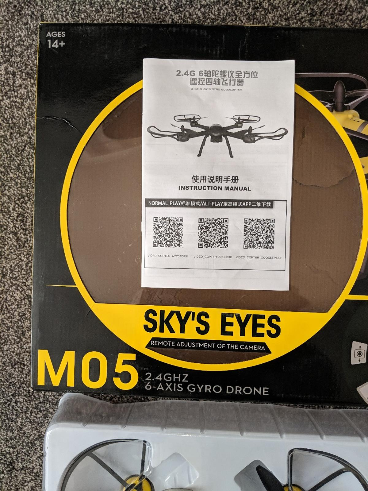 M05 drone gyro quadcopter in Wolverhampton for £30 00 for sale - Shpock
