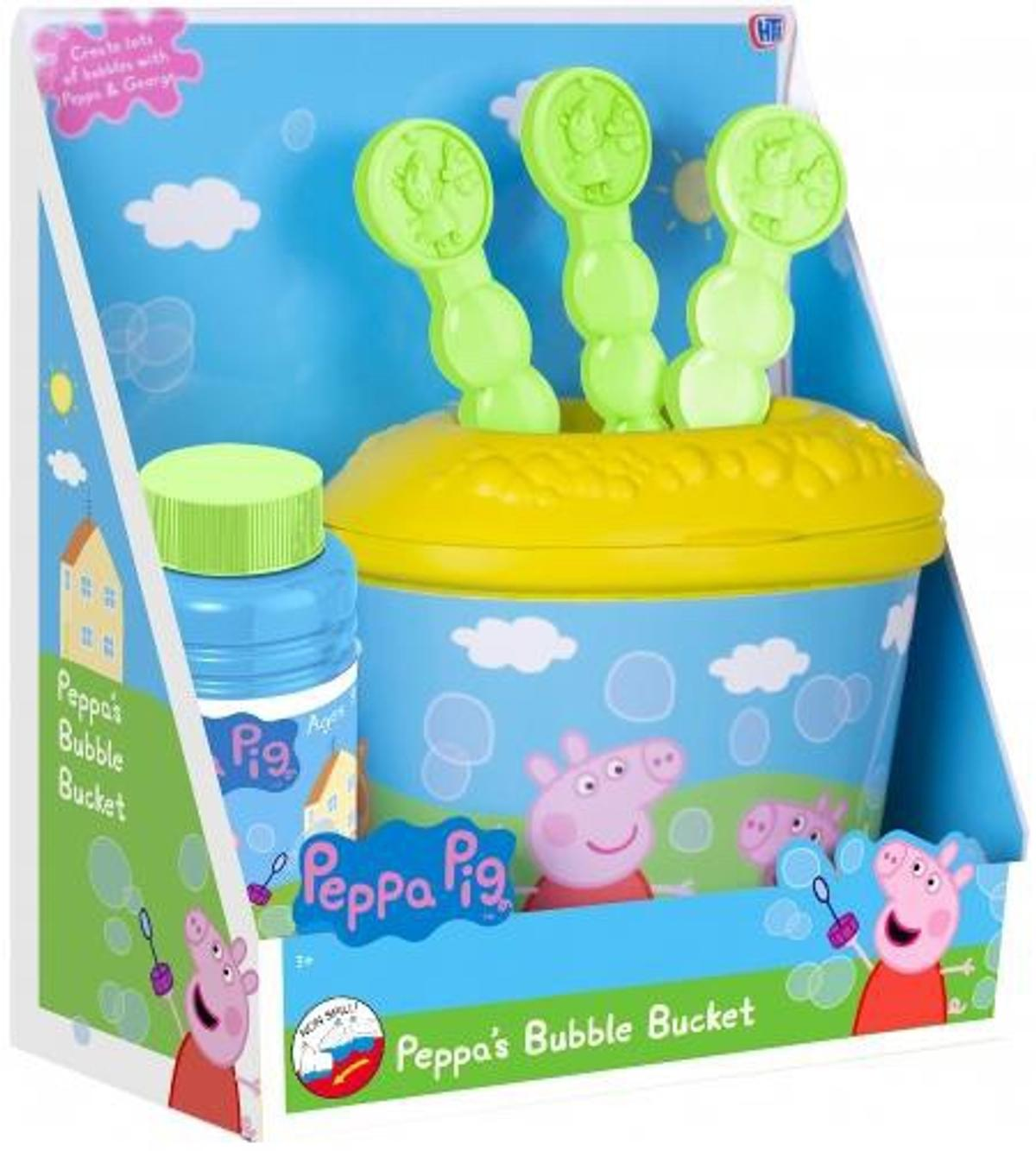 Peppa Pig Bubble plat Set