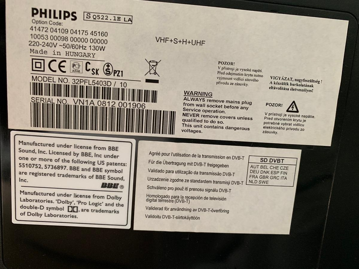 Philips 32in TV in DH7 Park for £70 00 for sale - Shpock