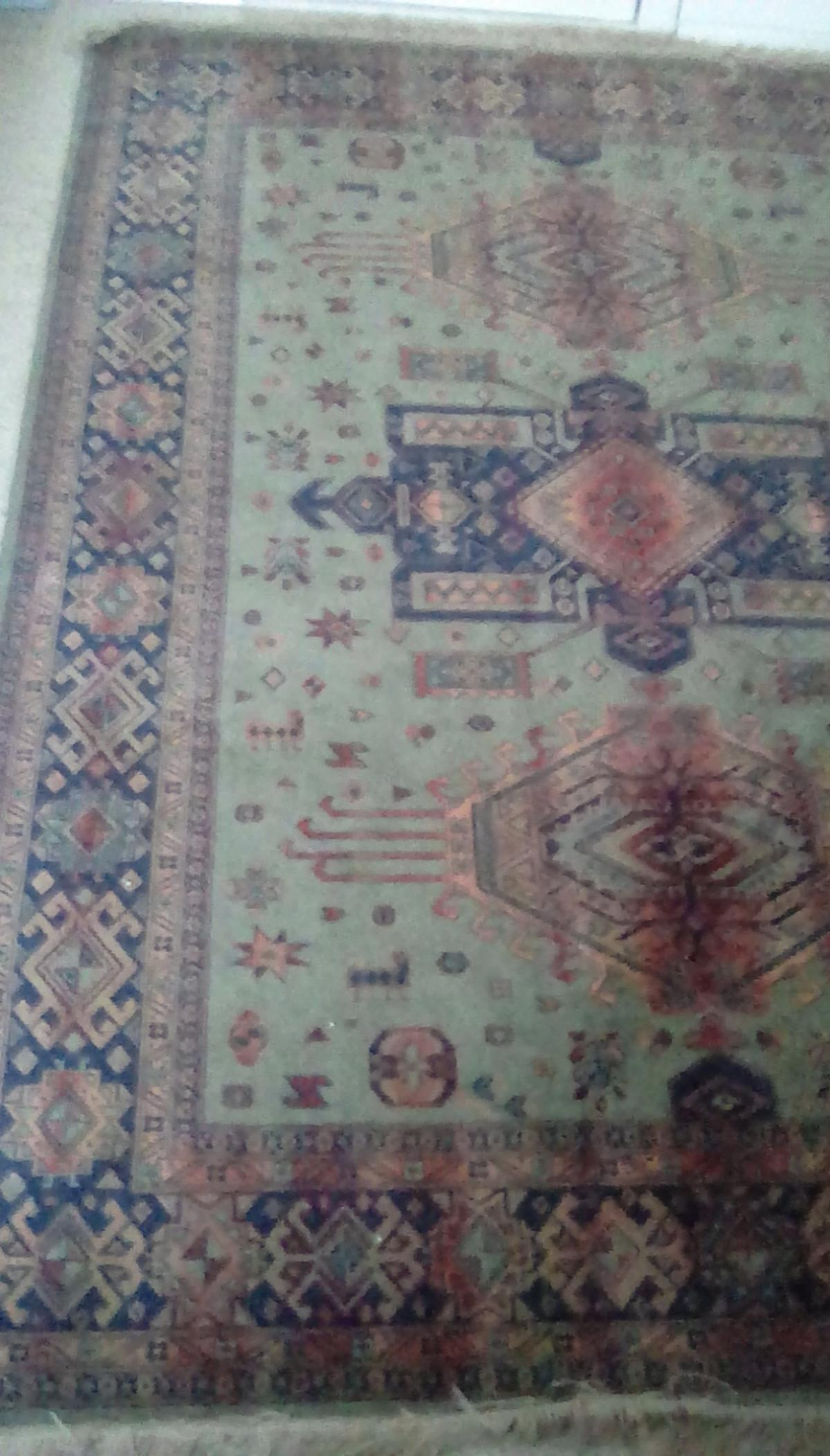 Large Green Terracotta Lounge Rug 80 X