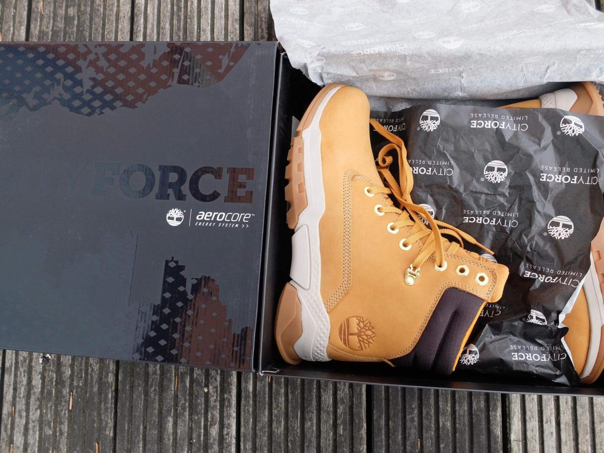 Timberland City Force 6 Inch Men Boots size 9 in W4 Hounslow