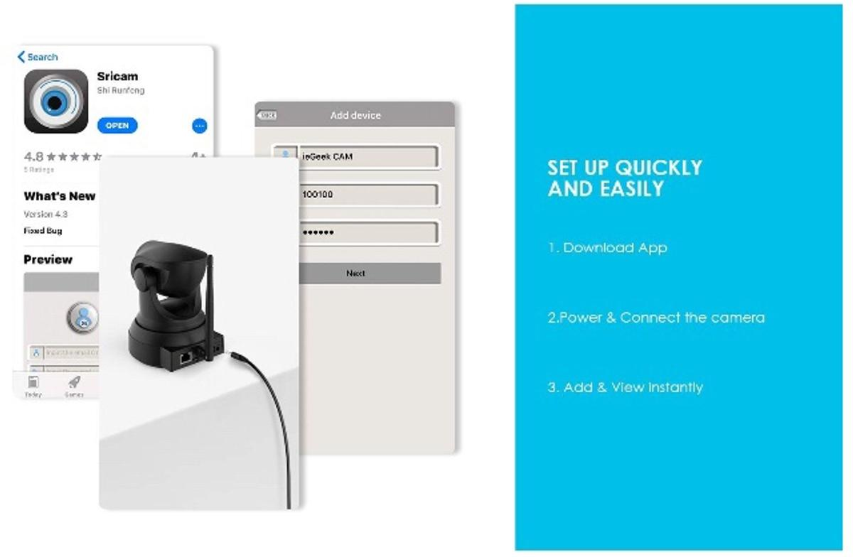 IeGeek [NEW UPDATE] 1080 IP Camera in E14 Hamlets for £25 00 for