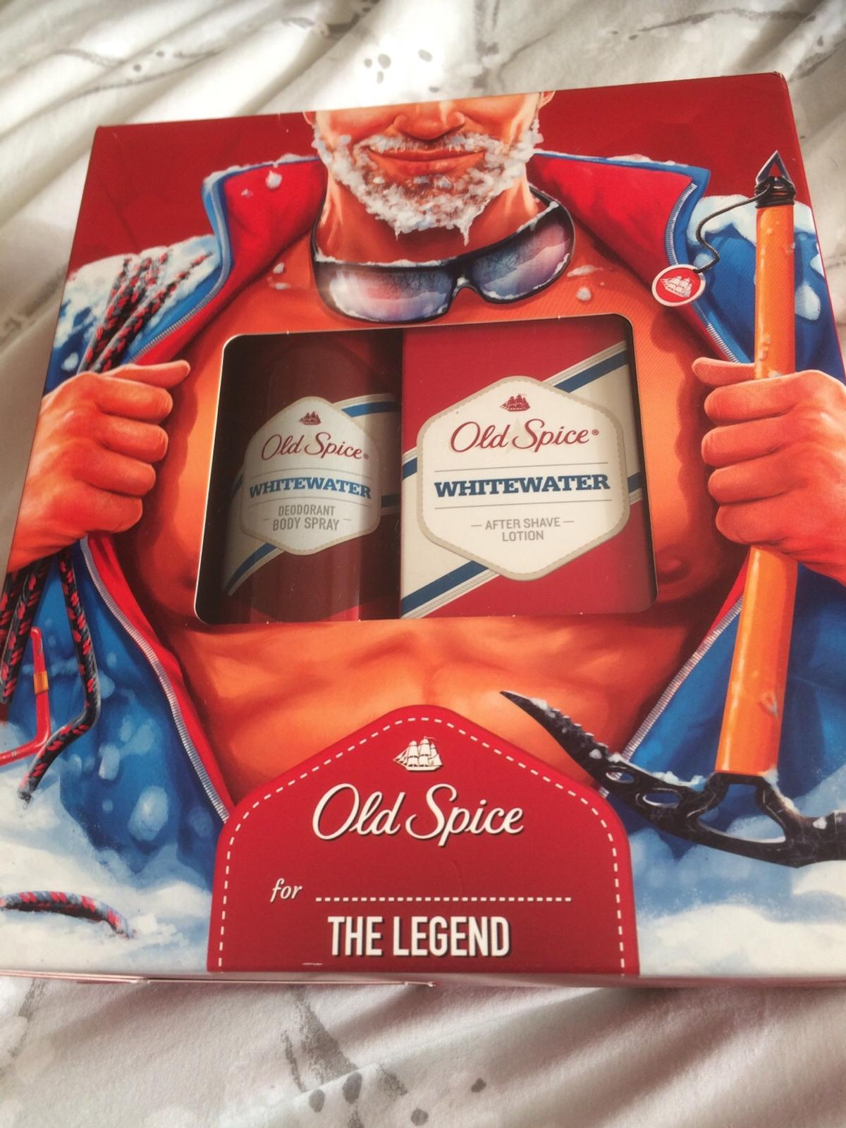 Description. Brand new & unopened Old Spice Whitewater Gift Set.