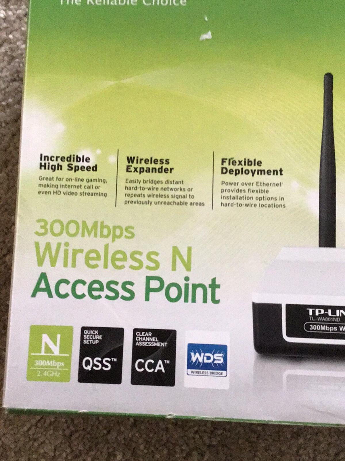 TP LINK 300 MBPS WIRELESS N ACCESS POINT in DN6 Doncaster