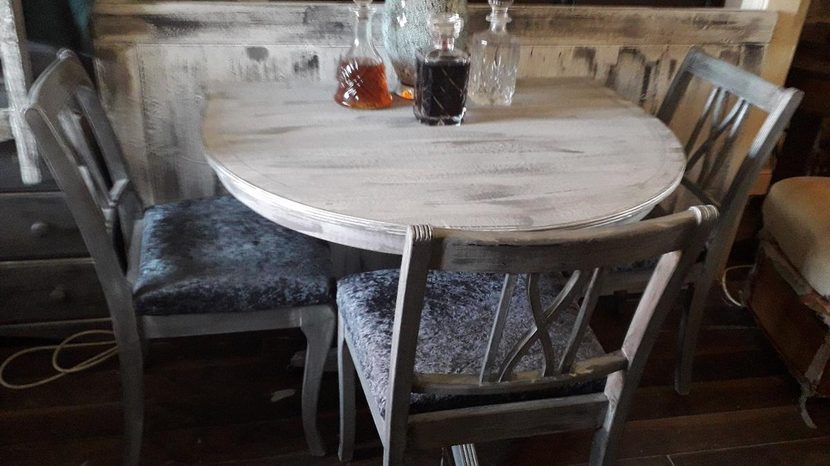 Reduced E Saver Vintage Table 3 Chairs