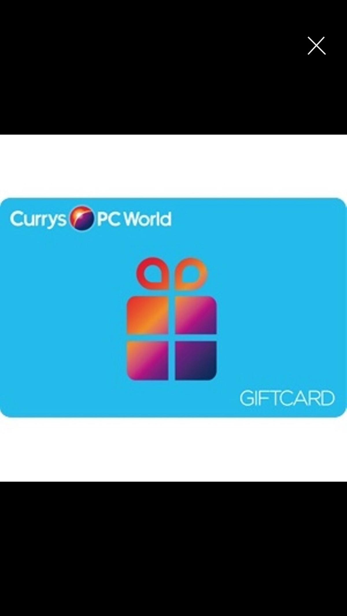 Currys Gift Card Balance >> Currys Gift Card In E14 Hamlets For 150 00 For Sale Shpock