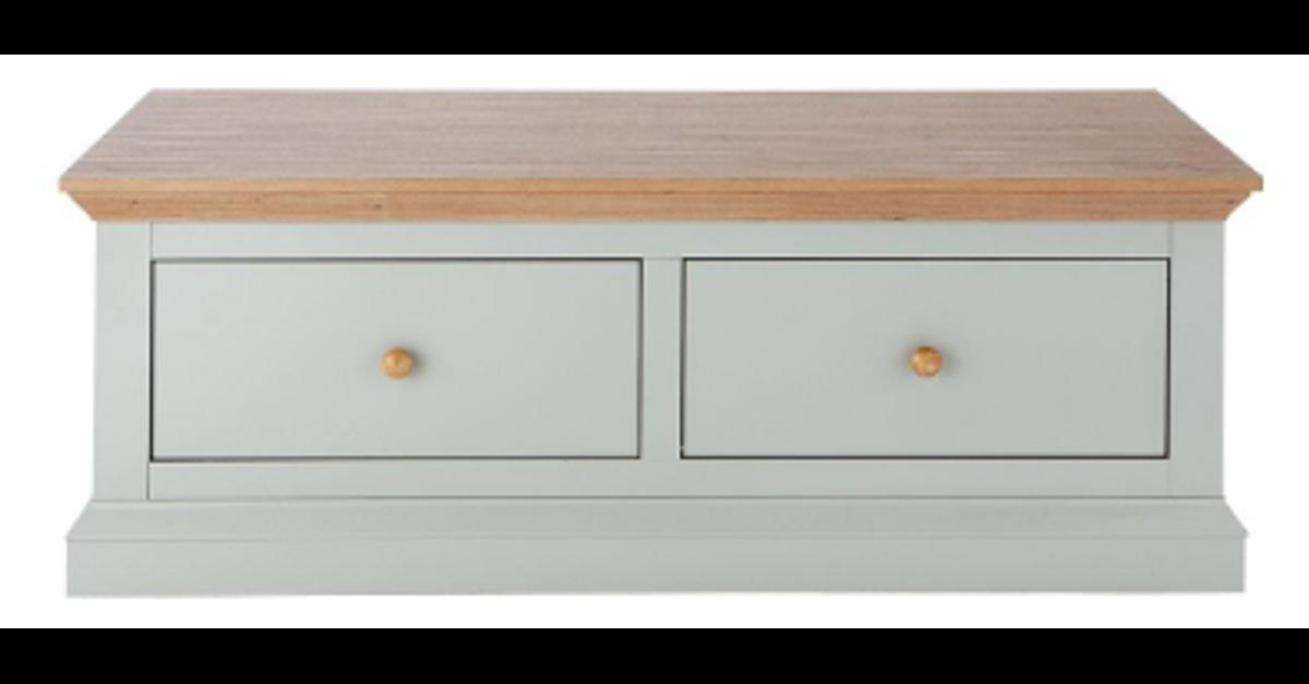Hannah 2 Drawer Storage Coffee Table In M18 Manchester For 40 00
