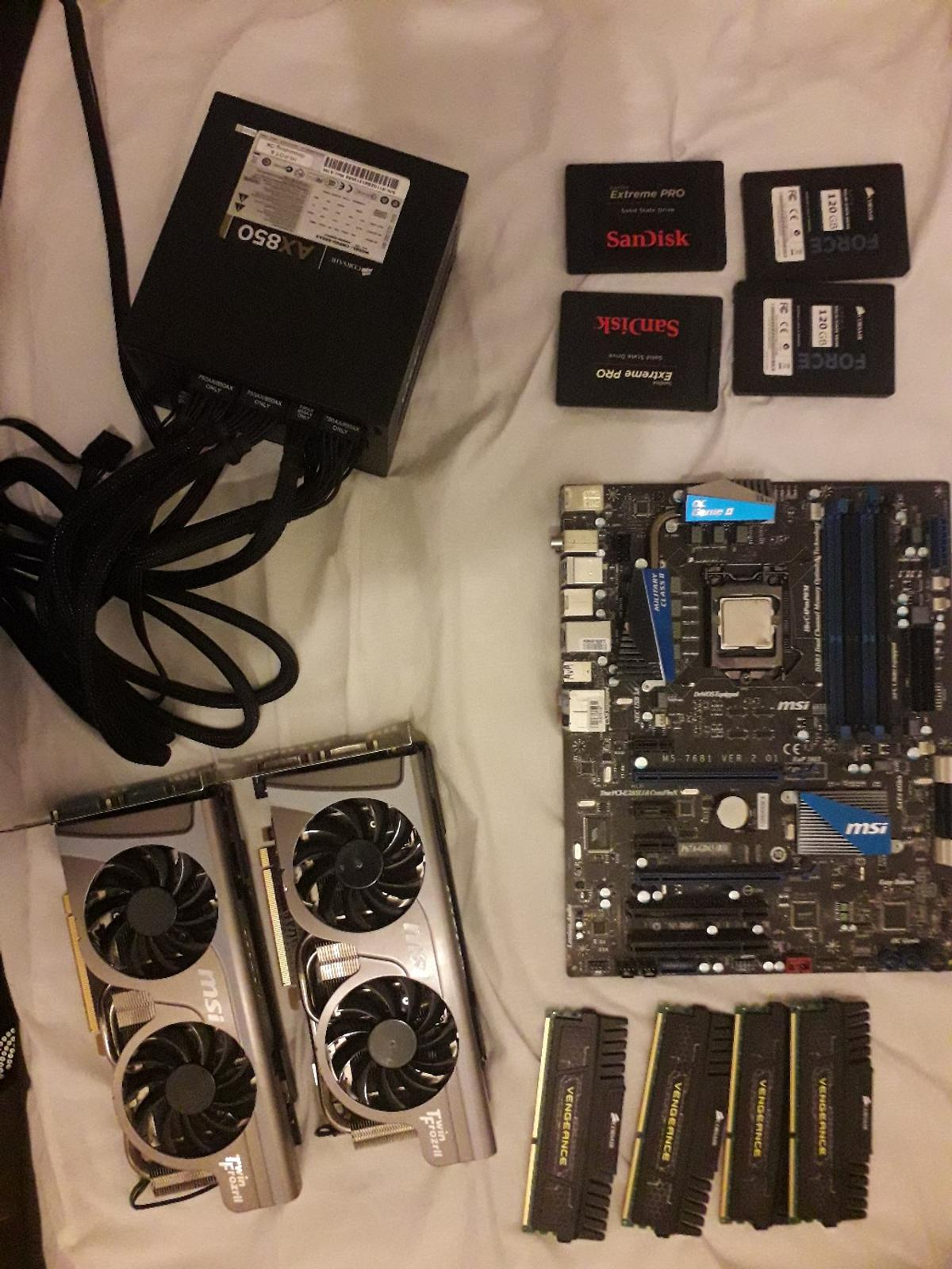 gaming pc parts in SM1 Sutton for £250 00 for sale - Shpock
