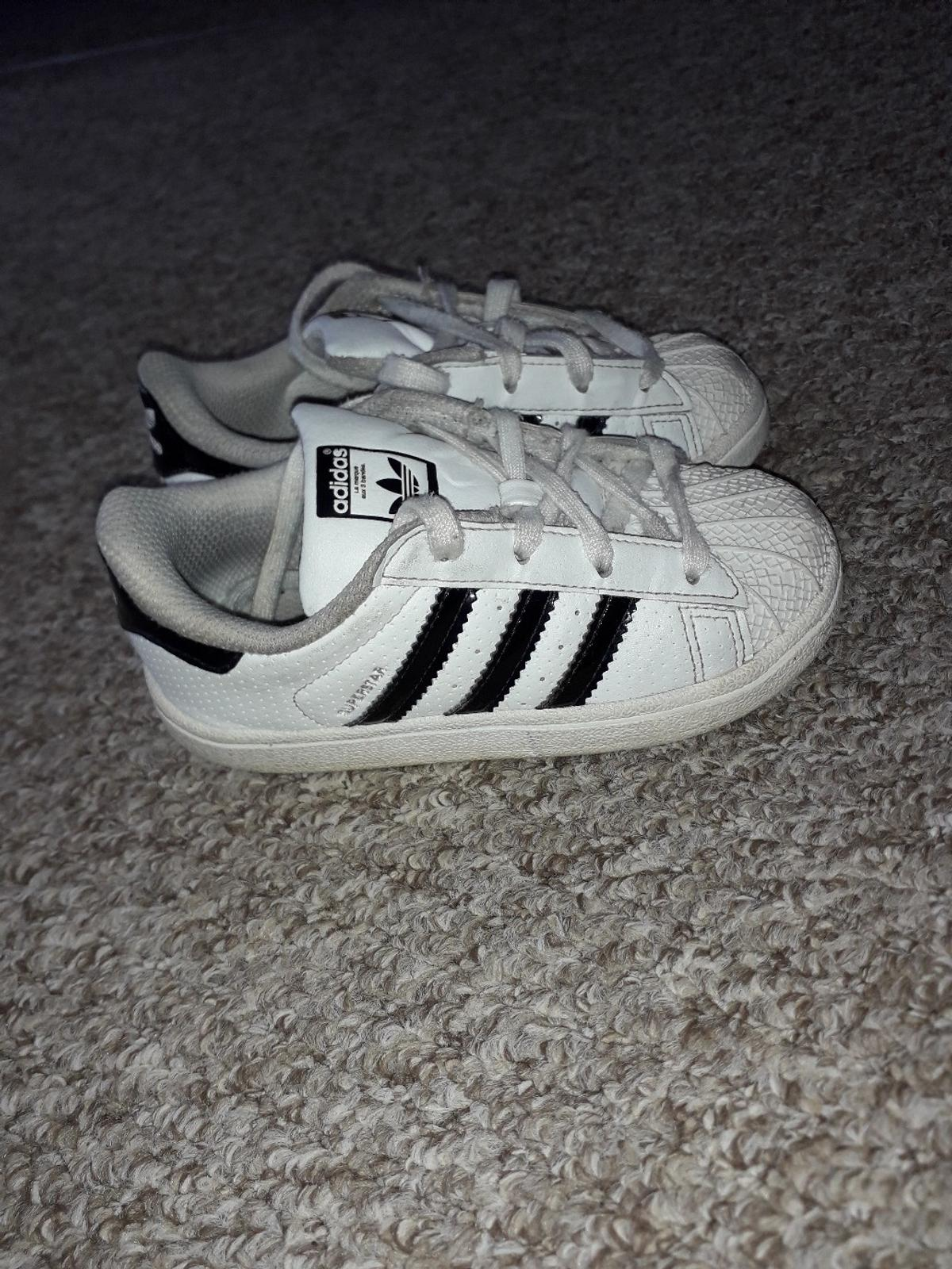 Adidas In TrainersKids Pe2 Peterborough Superstar 8Used Size