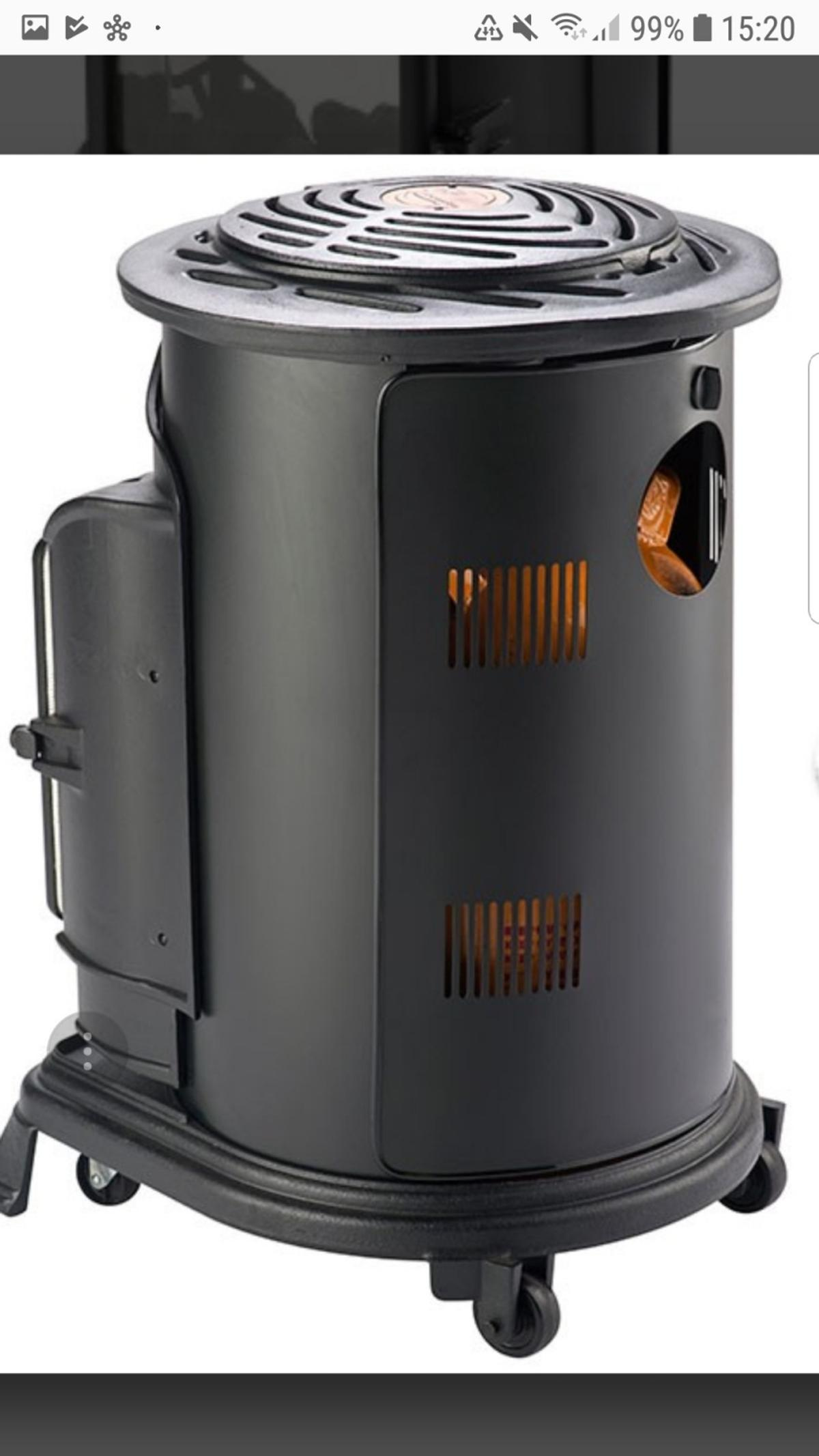 Cast Iron Calor Gas Heater On Wheels In Eastwood For 163 150