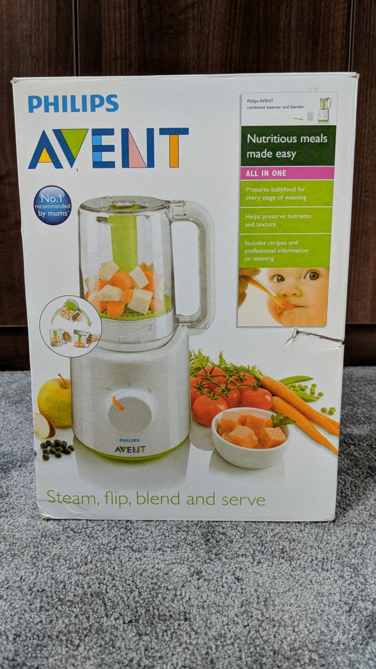 Philips Avent Combined Food Steamerblender