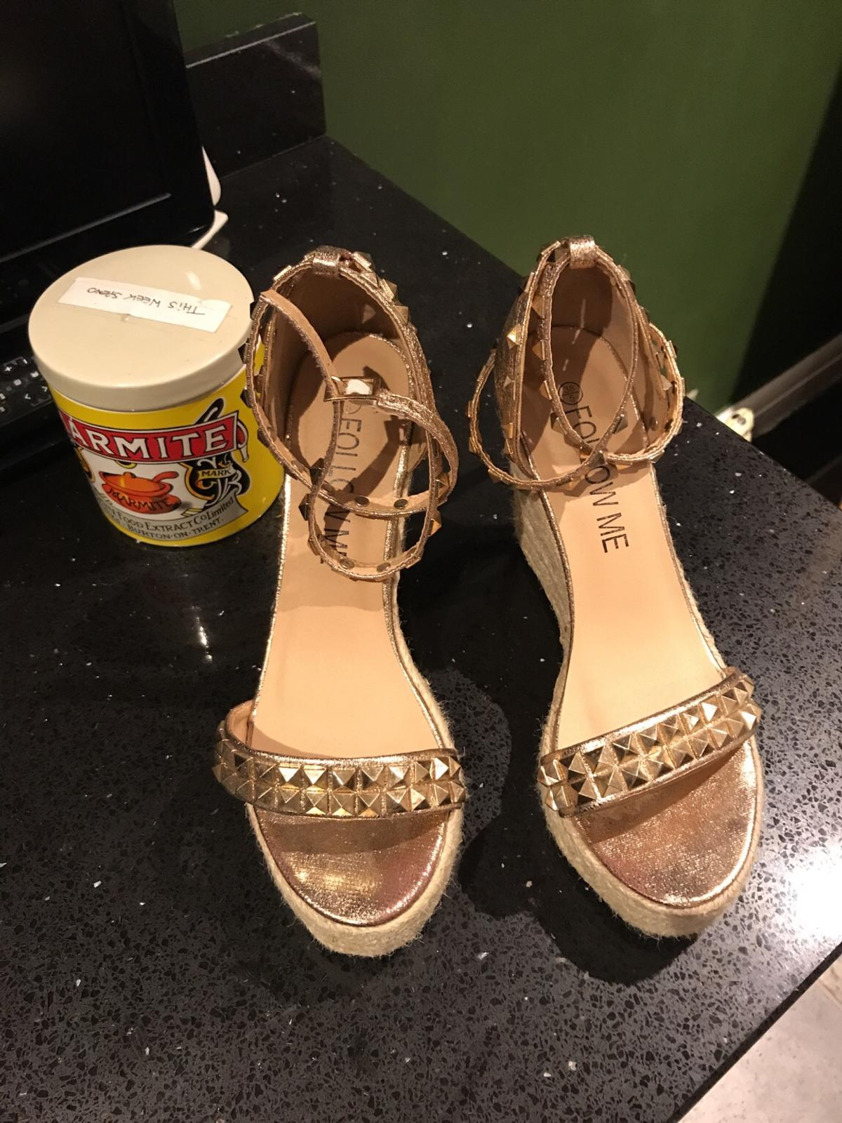 hot product sale usa online new appearance ROSE GOLD WEDGE SHOES in M33 Trafford for £19.00 for sale   Shpock
