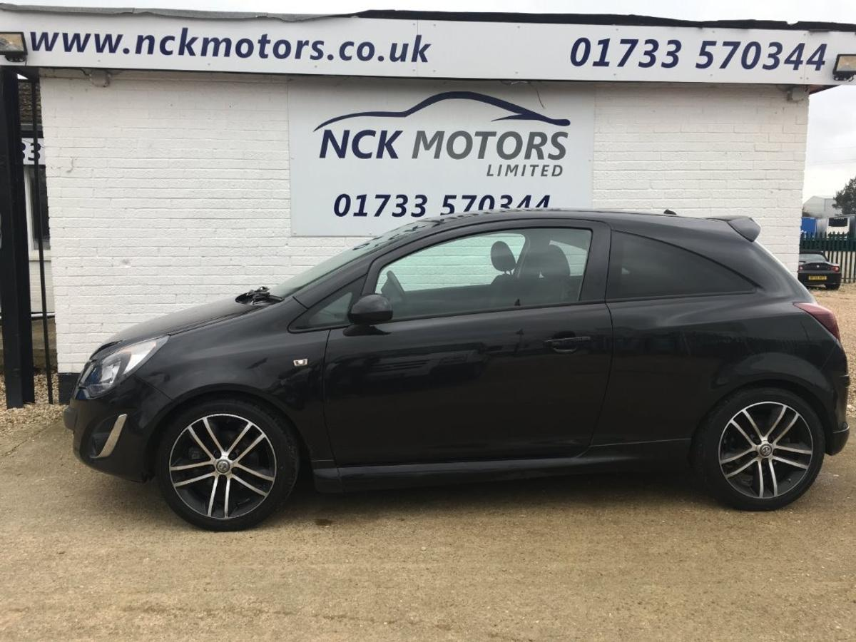VAUXHALL Corsa 1.4T 120 Ecotec-4 Start-Stop Black Edition finished in Black (Manual), 43,000 miles and only 1 previous owner from new.  Like all of our vehicles here at NCK Motors Ltd, this stunning car comes with 3 Years of Servicing for FREE, a comprehensive 3 month warranty, 12 months MOT, freshly serviced and FREE ANNUAL MOT FOR AS LONG AS YOU OWN IT!