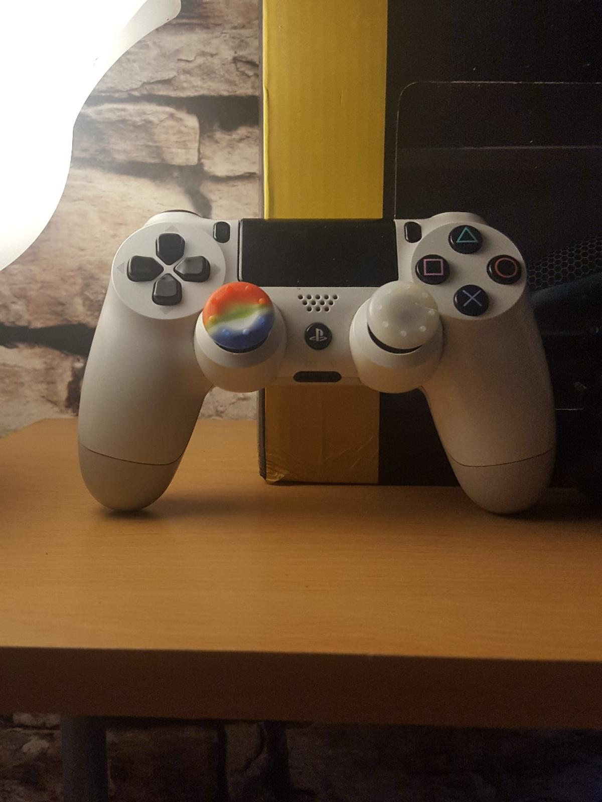 Protect the original buttons from wear so the pad will like look like its brand new always slide over original buttons also much more grip then the standard pad button improve the grip even if your button are ripped off they will still fit but be slightly loose (black pad in pics) range of colours ask what's available  £5 for 4x rubber grips