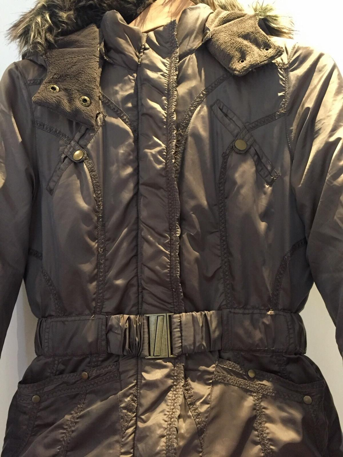 George Hooded coat. Size 10. New