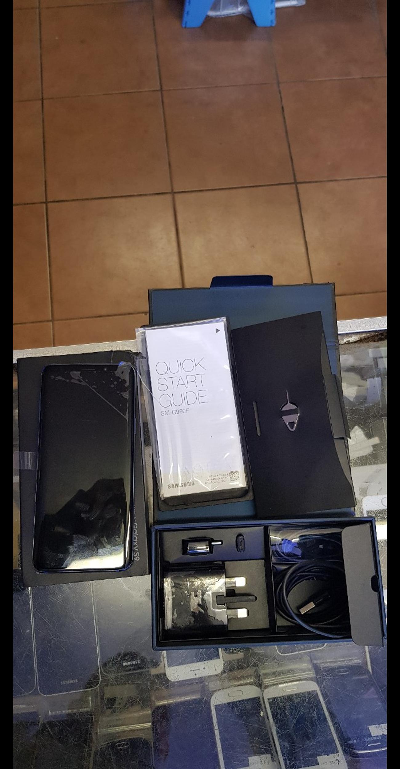 hia I am selling my Samsung galaxy s9 brand new condition with box all accessories on EE network grab a bargain